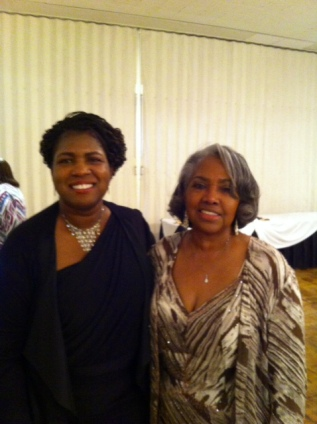 Dorothy Morris, author and me Black Writers' Guild 2oth Anniversary Gala at the Forum June 4, 2017